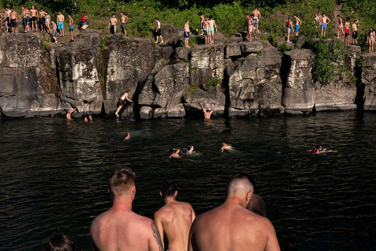 Relax in the waters of the Clackamas River, south of the city.  Getty Images