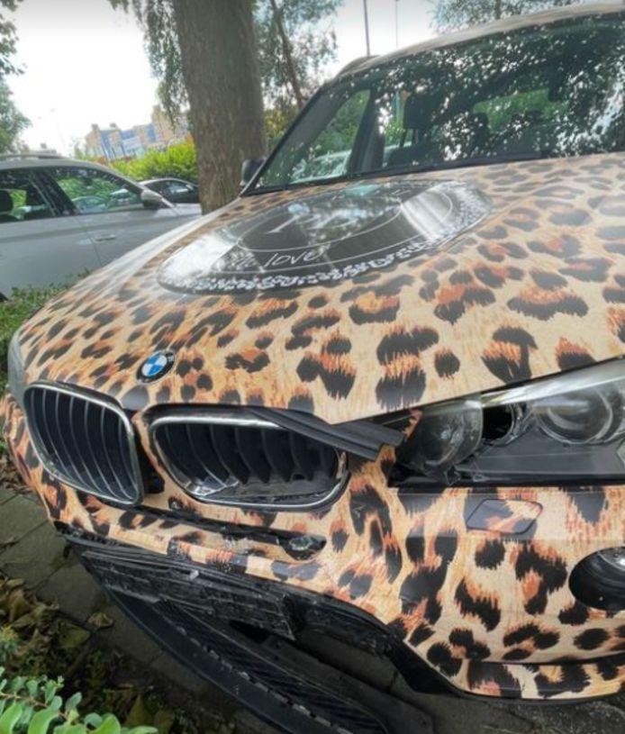 Damaged patty car.
