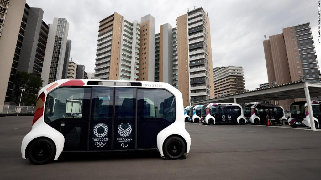 Toyota suspends use of self-driving car in Olympic Village after colliding with Paralympic athletes