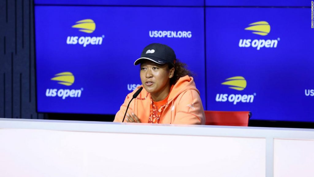 Naomi Osaka said there were 'mistakes' she did during her exit from the French Open in 2021
