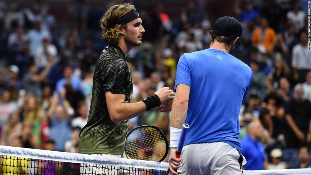 US Open: Andy Murray says he 'lost respect' for Stefanos Tsitsipas after first-round defeat