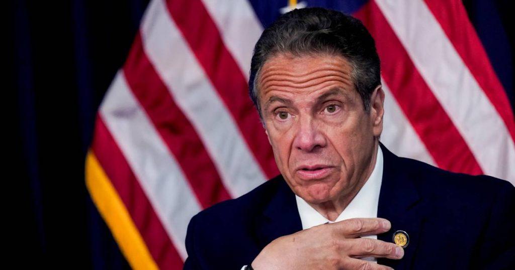 A woman accuses New York's governor of breast harassment: 'What he did to me was a crime' abroad