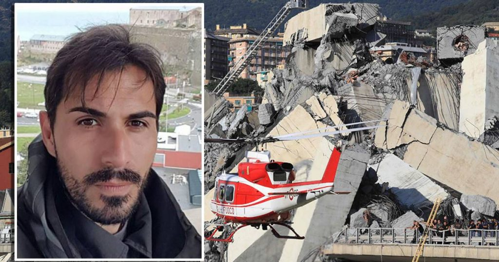 Bridge collapse still painful for ex-professional footballer David: 'You'll see life differently' outside the country