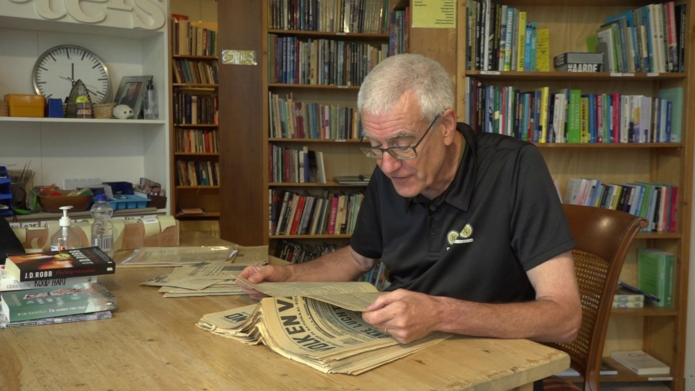 Finding War Treasure in a Thrift Store: An anonymous donor hands over antique newspapers