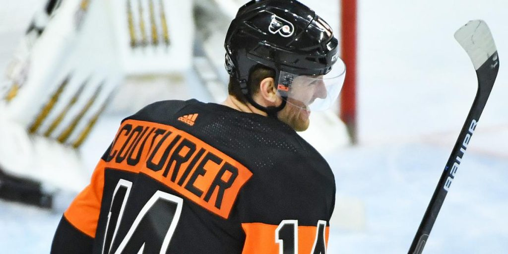 Flyers' Sean Couturier Signs 8-Year Contract Extension Worth $62 Million