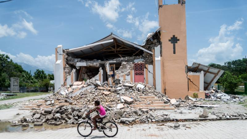 Haiti's death toll adjusted again, more than 2,100 dead