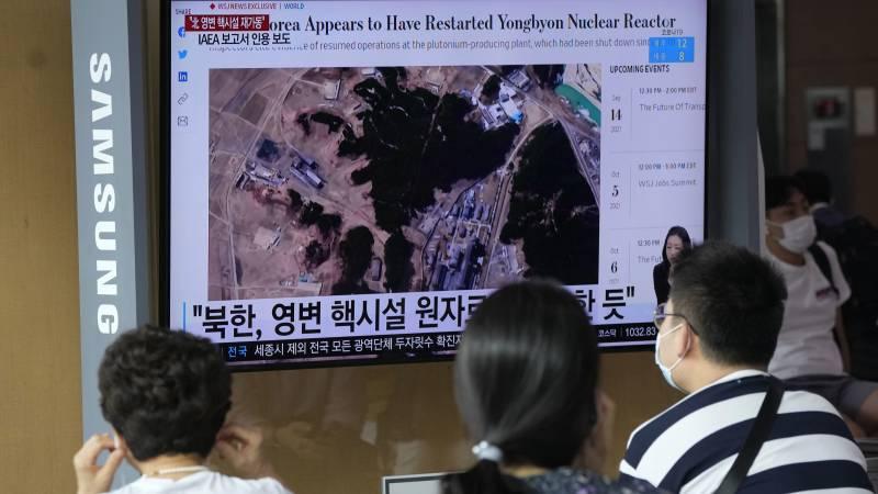IAEA: North Korea restarts its main nuclear reactor