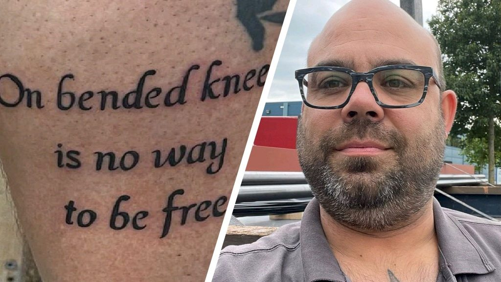 Inspired by Peter R. de Vries, these people put the same tattoos