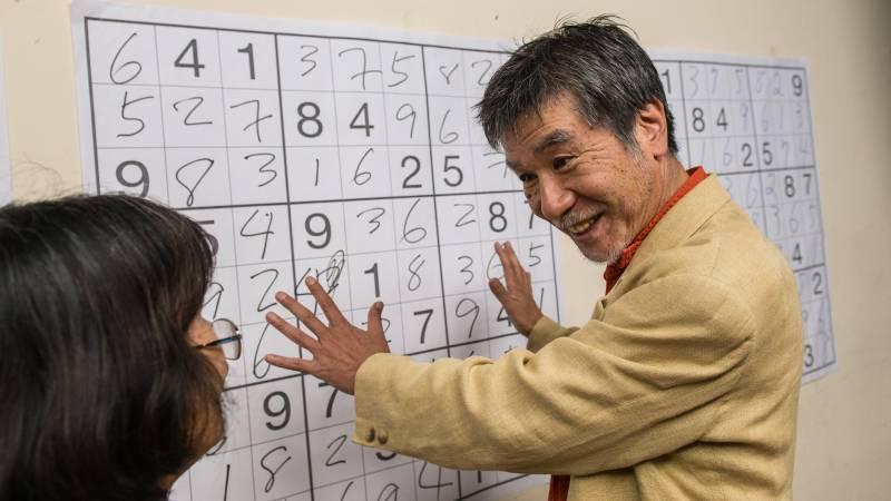 Maki Kaji, 69, the man behind the success of Sudoku, has passed away