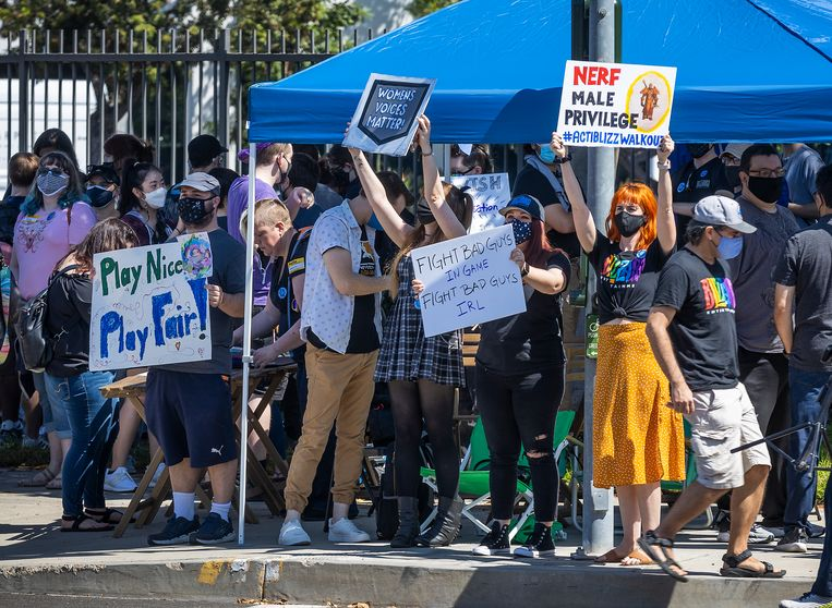 More gaming layoffs after massive anti-sexist protest at game company Activision Blizzard