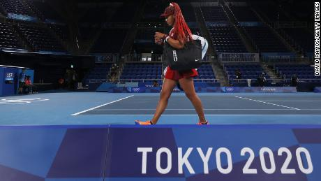 Naomi Osaka will leave the Tokyo Olympics without a medal, losing in the third round to Marketa Vondrosova