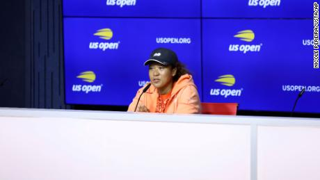 """Naomi Osaka made the decision to withdraw from Roland Garros in May, citing mental health reasons.  She said she """"  You don't know how big the deal will become & quot;  during a press conference on Friday."""