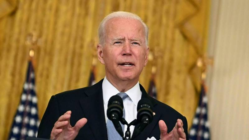 President Biden: It is not in the interest of the United States to remain in Afghanistan