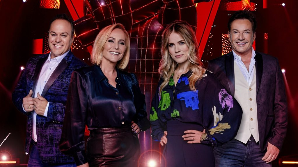 The Eurovision star appeared in The Voice Senior