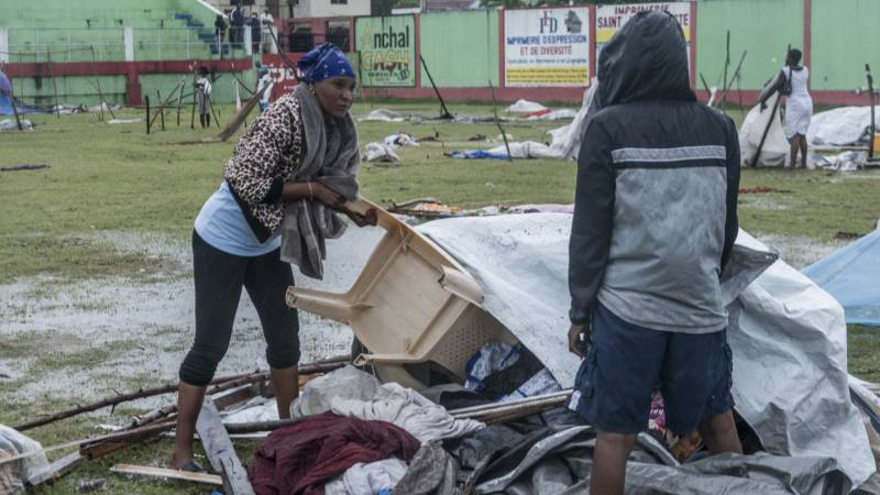 The death toll in Haiti rises to 1941, and the storm causes additional inconvenience to the homeless