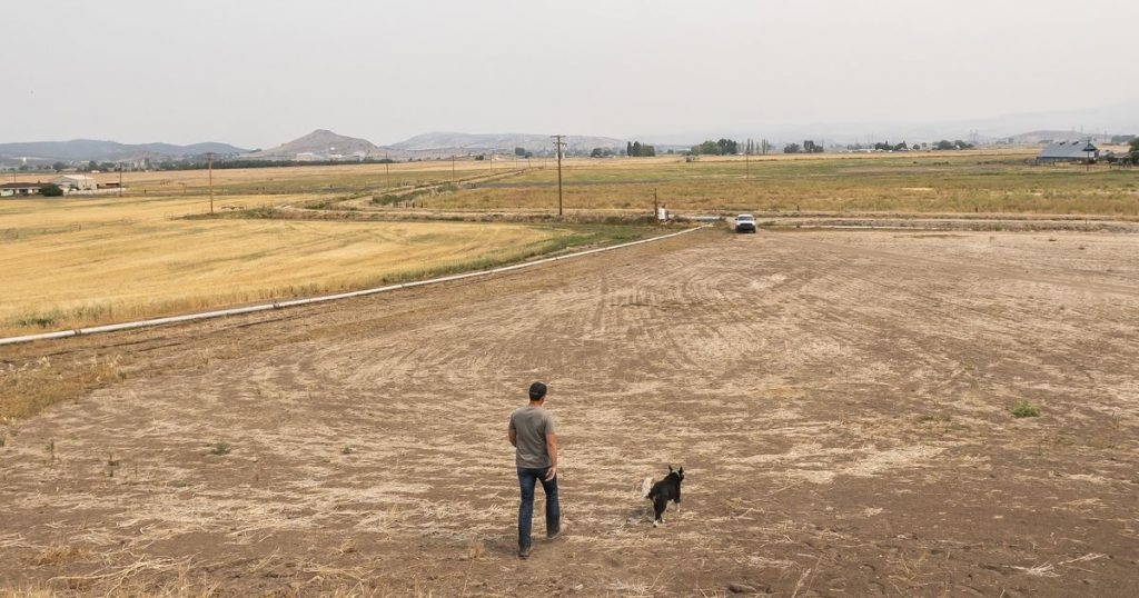 The west coast of the United States is suffering from a historic drought