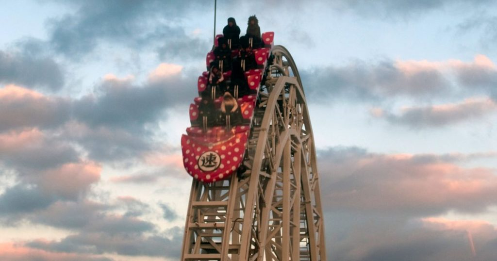 The world's fastest roller coaster shuts down after broken bones |  Abroad