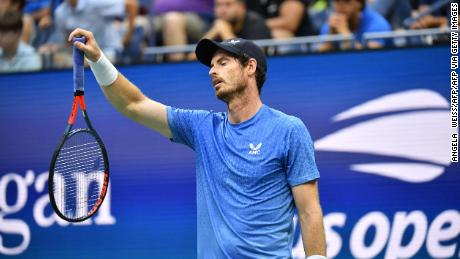 Andy Murray was unhappy with the long breaks that Stefanos Tsitsipas took.