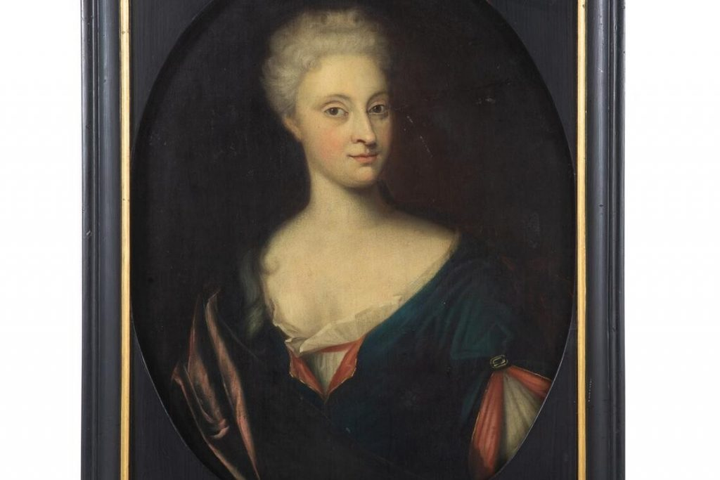 Verhildersum has been painting in the United States since 1720 with a young woman named von Starkenborg.