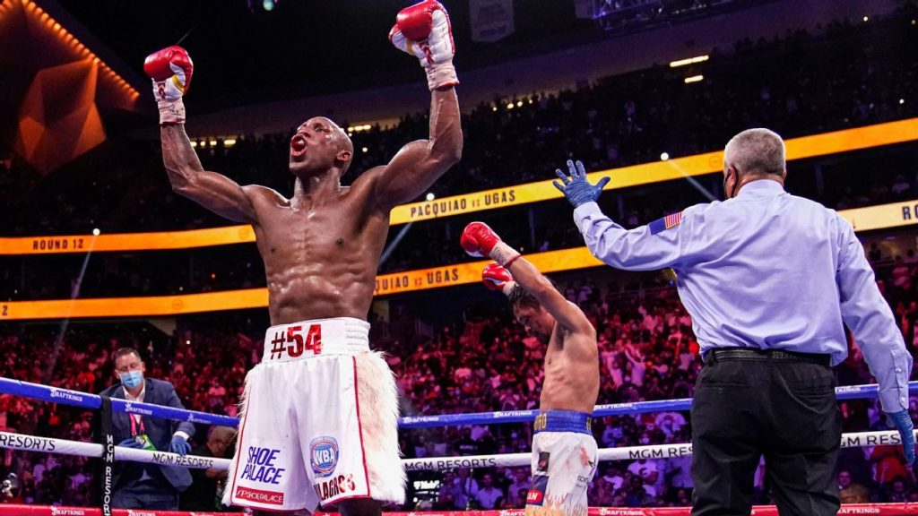Yordenis Ogas upsets Mane Pacquiao with his decision to retain the WBA title