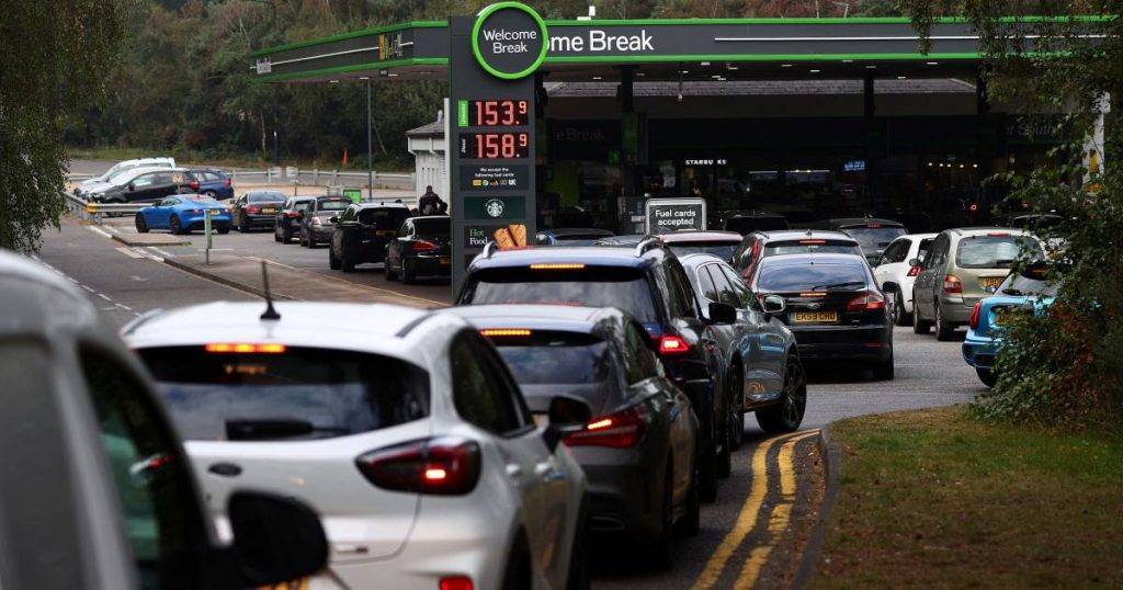 Britons line up for hours at empty petrol pumps: 'Stop hoarding'    Instagram