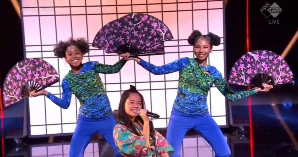 Ayana wins Junior Song contest and goes to Paris on behalf of the Netherlands |  to watch