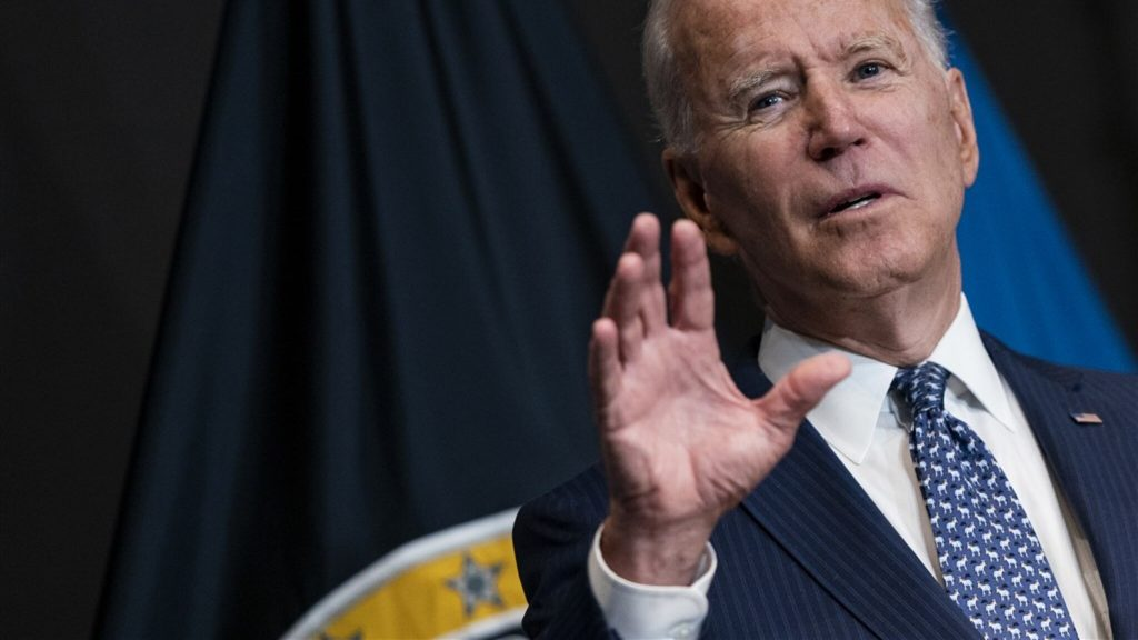 Biden is increasing pressure on the United States not to be vaccinated
