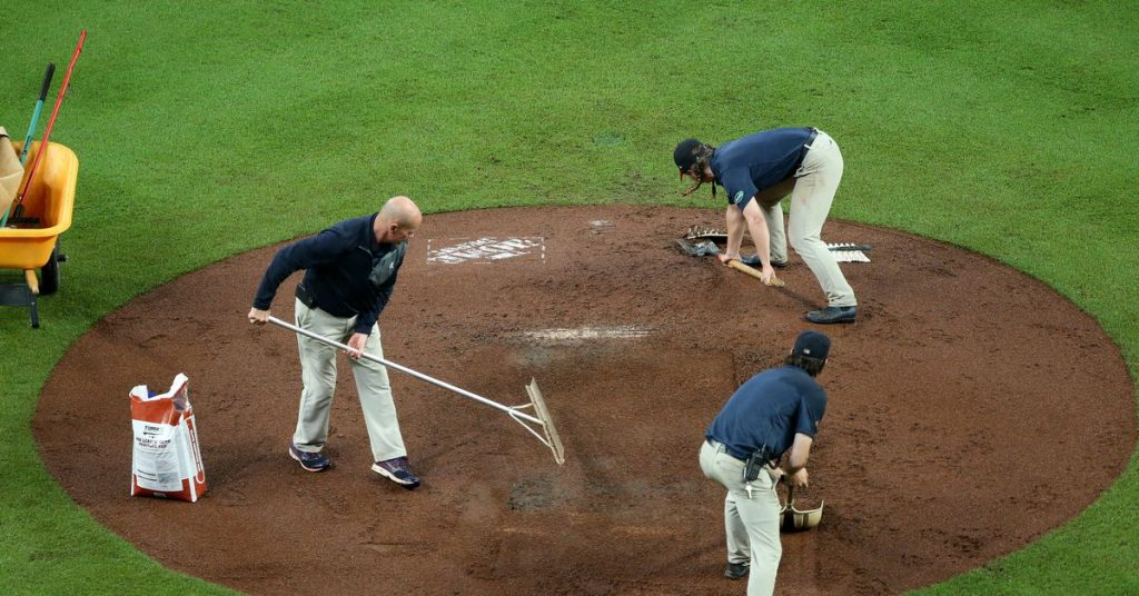 Braves series rained, the final Rockies