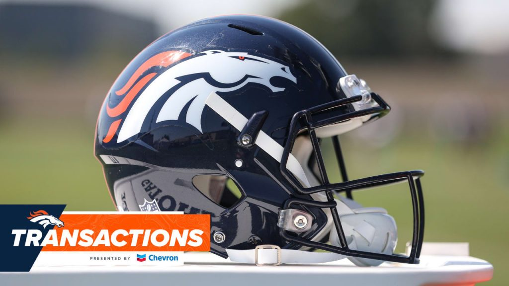 Broncos performs a series of roster transactions to reach the 53-man limit