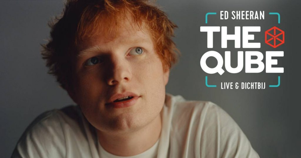 Ed Sheeran returns to Qube from Qmusic after nearly 10 years |  to watch