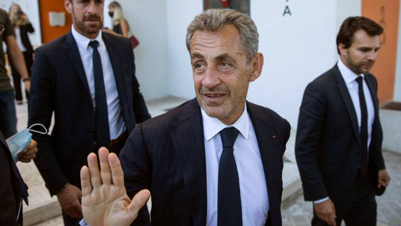 Former French President Sarkozy pleaded guilty to fraud, and was sentenced to one year in prison