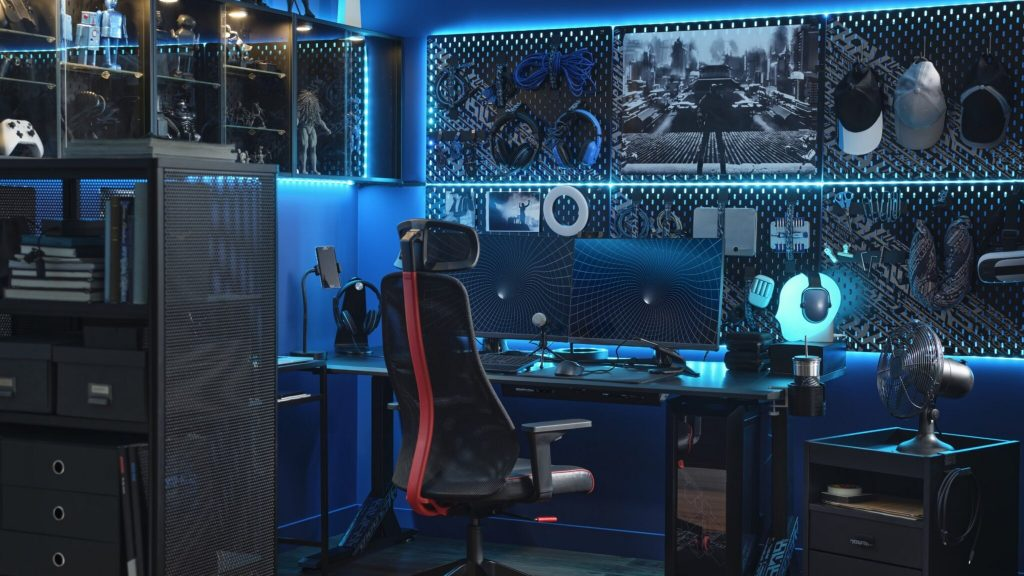 IKEA comes with furniture and accessories for gamers