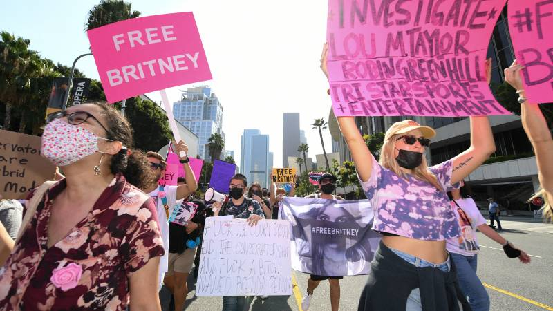 Judge Father Britney Spears suspends bankruptcy trustee