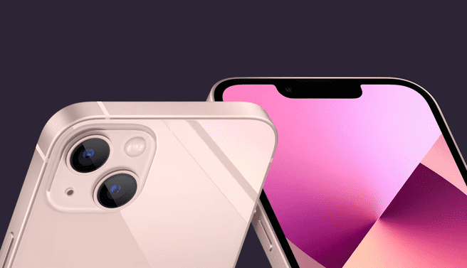 iPhone 13 in 13 mini