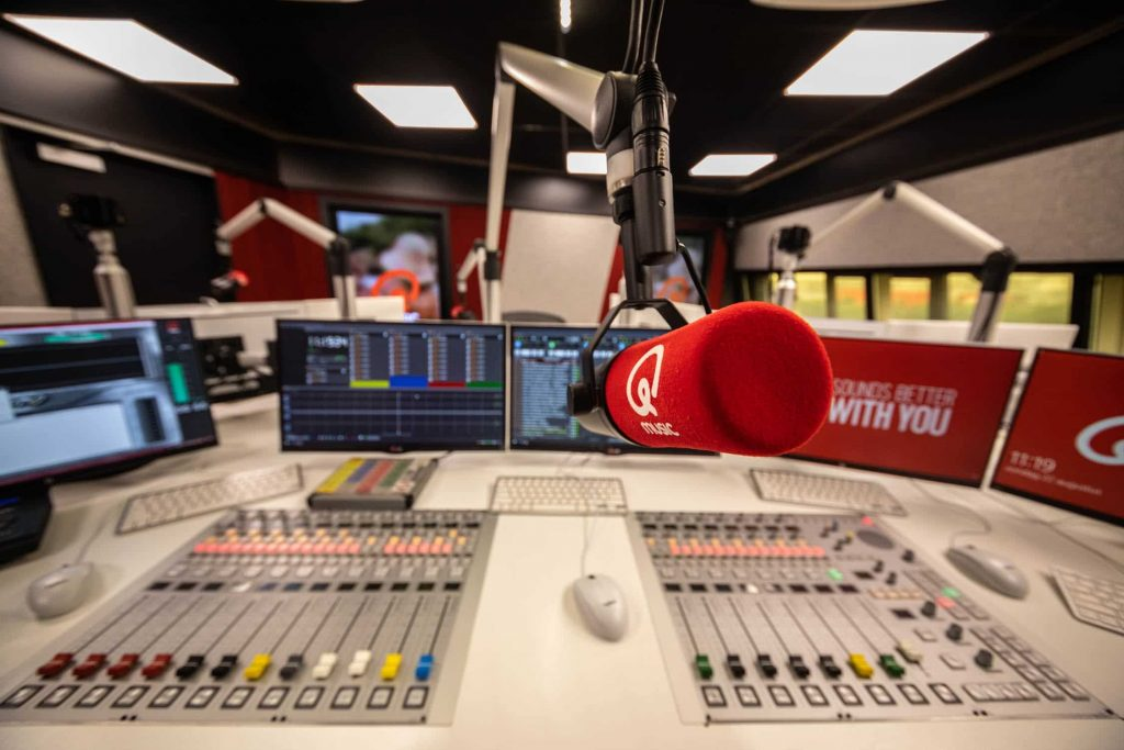 Listening Numbers 20-49 Years Old: The Big Winners of Qmusic and KINK