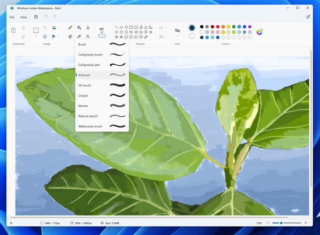 Paint Brushes for Windows 11