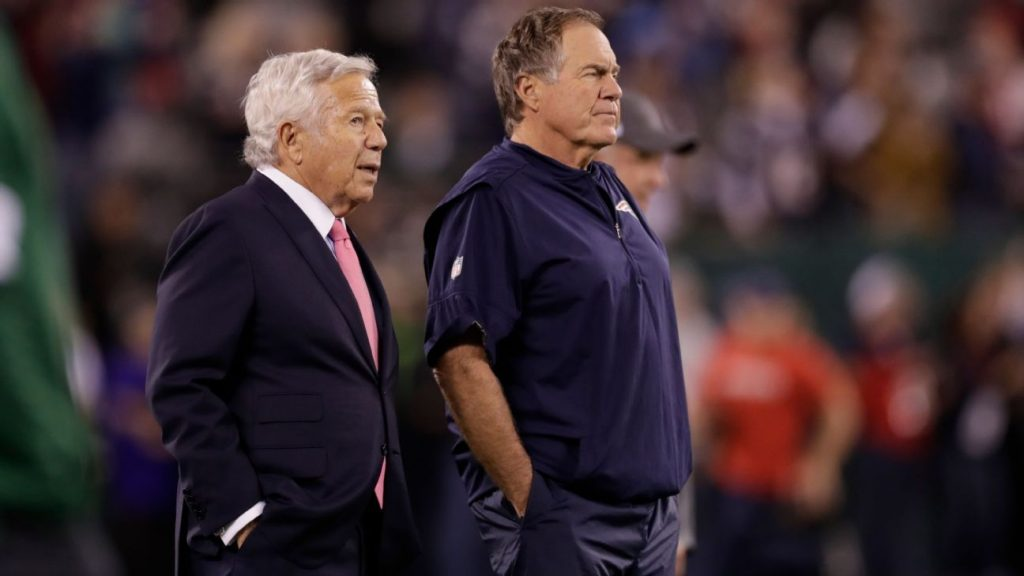 New England Patriots writers inside a secret and controversial franchise Robert Kraft, Tom Brady and Bill Belichick