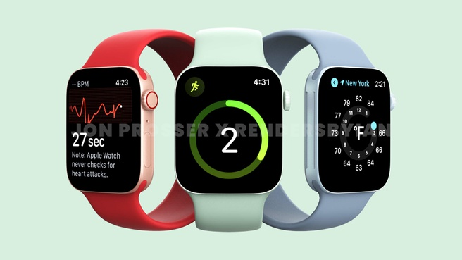 Apple Watch Series 7 via Front Page Tech