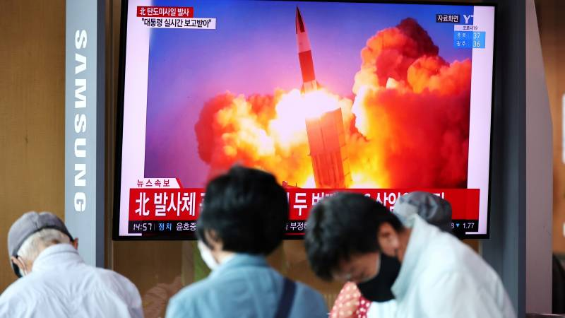 North Korea conducts a new missile test and attacks the United States