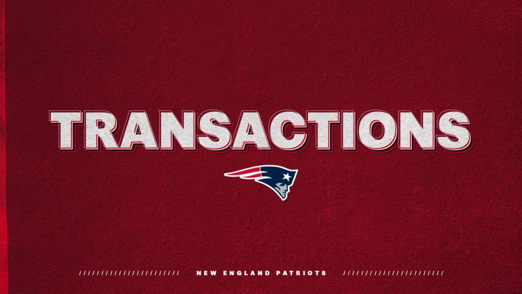 Patriots claim exemptions for RB/WR Malcolm Perry Off from Miami;  Put WR N'Keal Harry on IR;  Three players signed up for the coaching squad