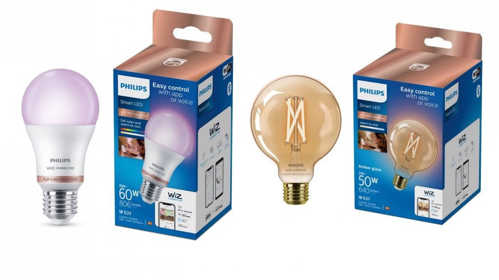 Philips comes with another lamp brand in addition to Hue and WiZ: Philips Smart LED