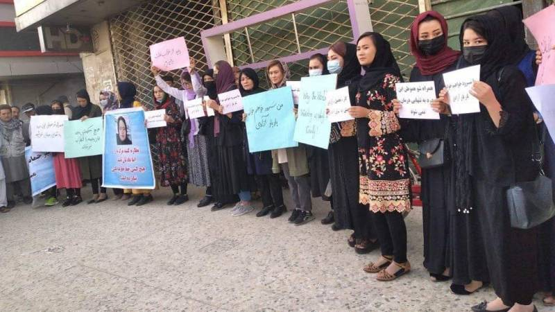 Protests in Afghanistan again, the world is talking about the Taliban government