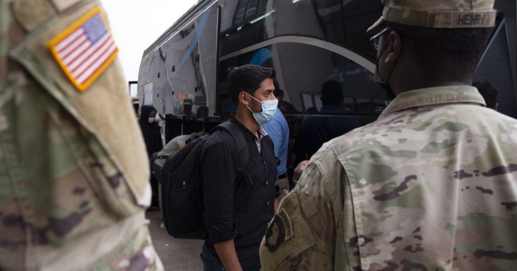 Tens of thousands of Afghans are still trapped in US military bases abroad