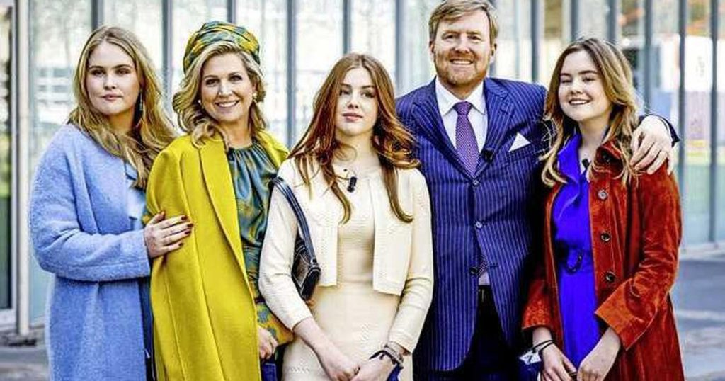 The King and his family celebrate King's Day in Maastricht next year |  interior