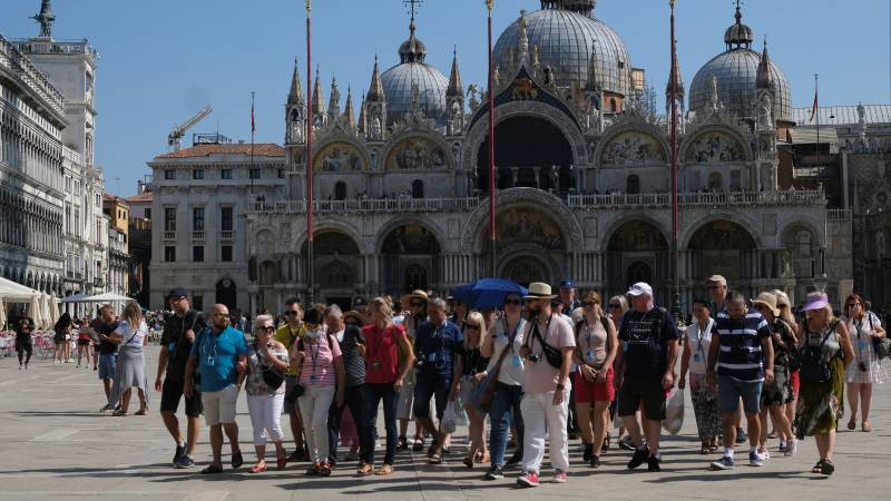 Tourists have returned to Venice, but most Venetians are disappointed