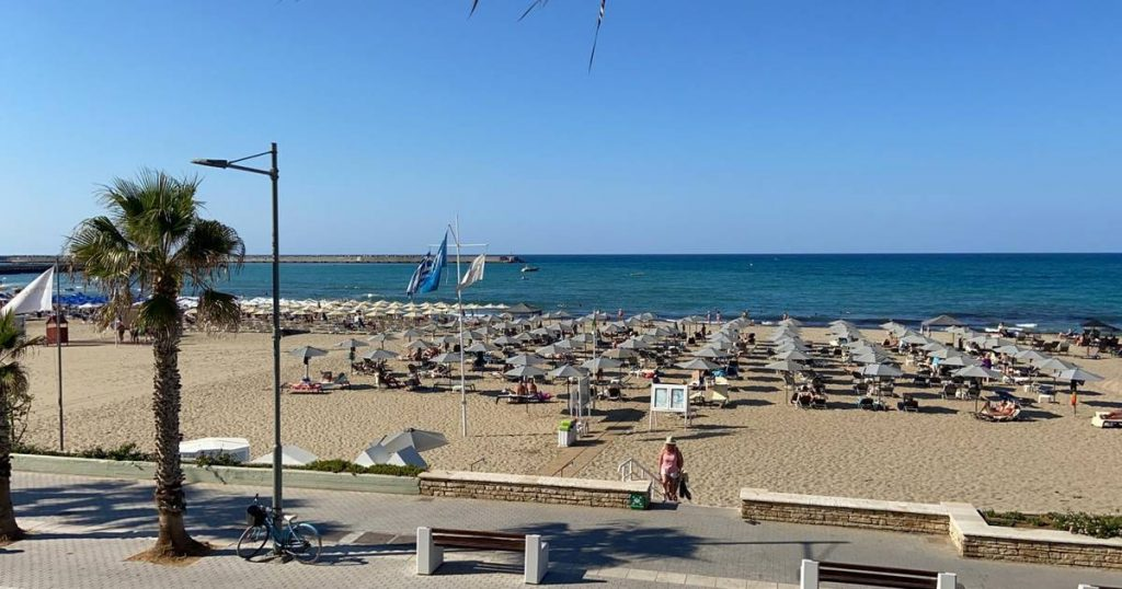 Two Belgians drowned in Crete and a Dutch tourist tried to save their lives |  interior