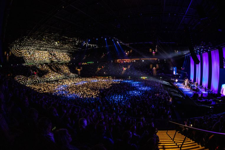 De Dijk performing at the Ziggo Dome.  Dutch photo height / ANP