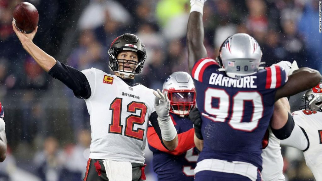 Tom Brady triumphantly returns to the New England Patriots with a win and an all-time pass record