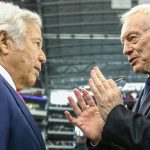 Cowboys Jerry Jones and Robert Kraft of the Patriots talk about their relationship, their teams, and more.