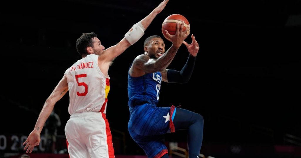 Basketball players US tackle Spain after break: 'Dream team' to semifinals    Olympic